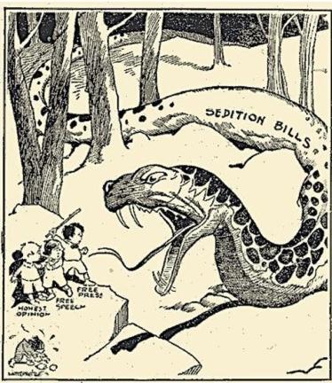 sedition post